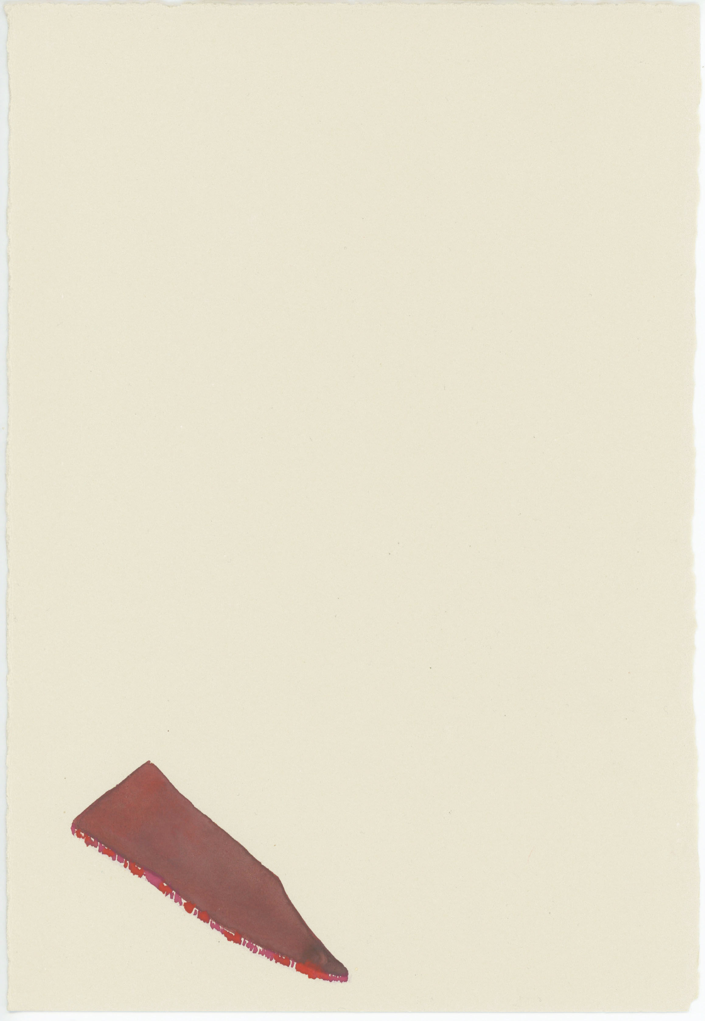 52. Watercolour on paper. 20 x 28cm